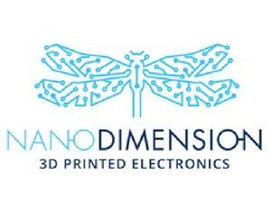 עמדת צילום מסך ירוק של FunTa באירוע של חברת NanoDimension