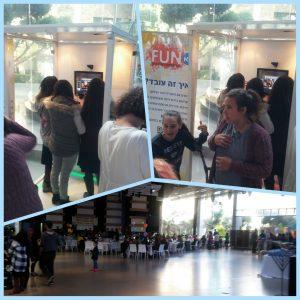 תא צילום שקוף של FunTa הפקות אירועים באירוע של עמותת שמחה לילד
