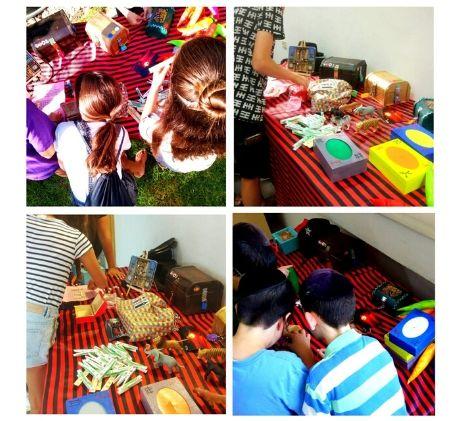 חדר בריחה נייד לילדים